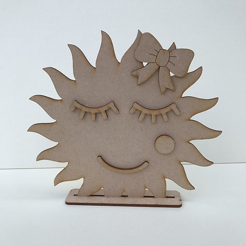 Sun Shelfie with Face