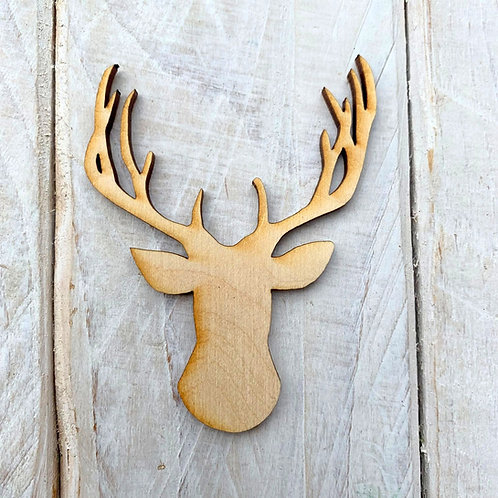 Plywood Reindeer Antler 10 Pack
