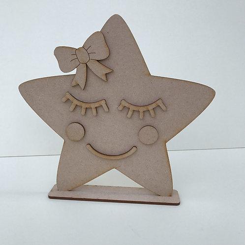 Star Shelfie with Face