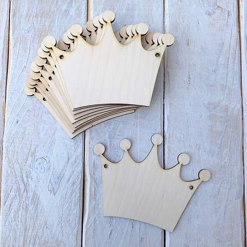 10 Pack Bunting Crown