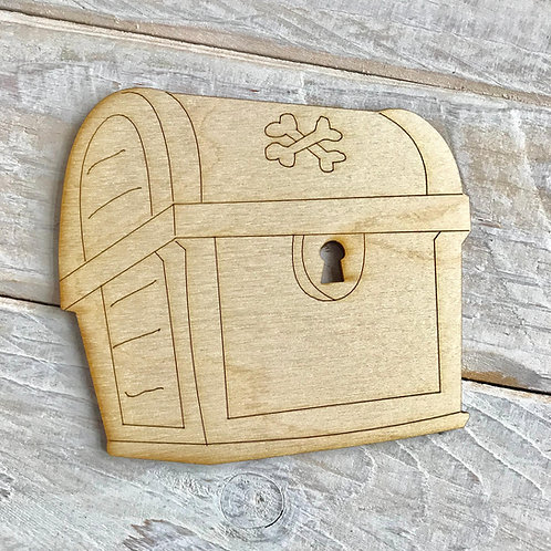 Plywood Treasure Chest 10 Pack