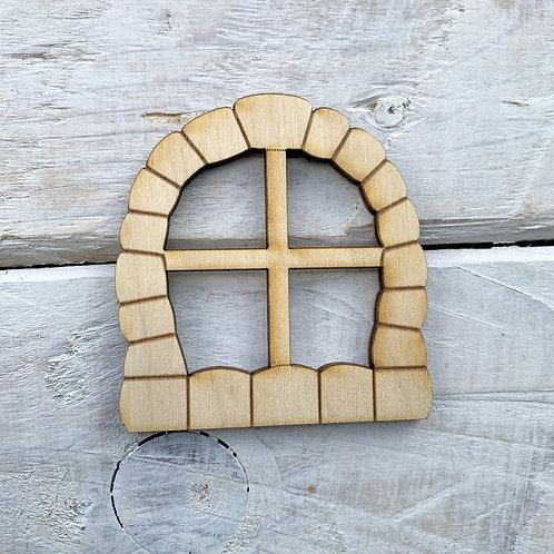 6 Pack Fairy Door Window Curve Cobbled