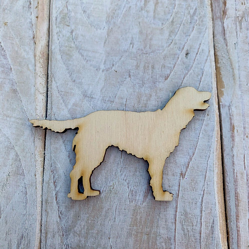 Plywood Working Cocker  Dog Shape 10 PACK