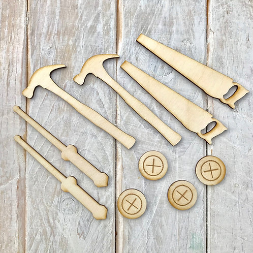 Plywood Tool Collection 10 Pack