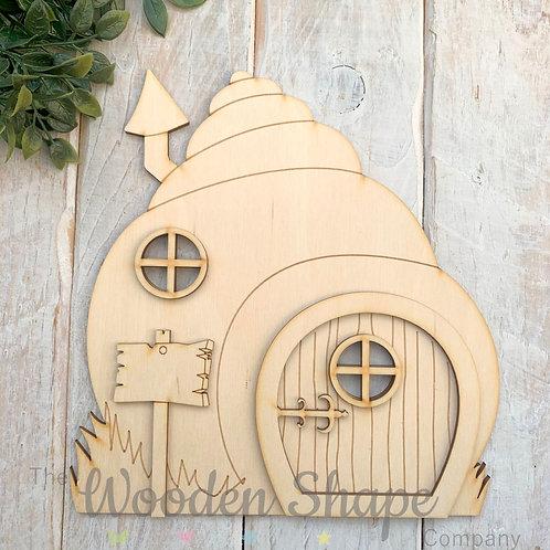 Large Shell Fairy Door