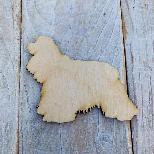 Plywood American Cocker Spaniel Dog Shape 10 PACK