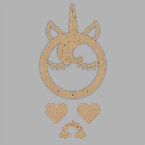 Dream Catcher Unicorn Horn & Face