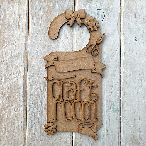 Door Hanger Layered Craft Room