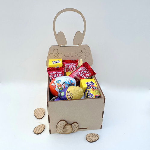 MDF Easter Fillable Treat Box Gamer