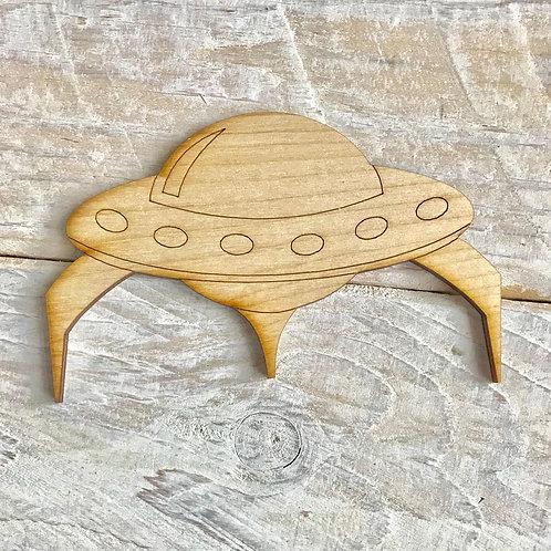 Plywood Spaceship 10 Pack