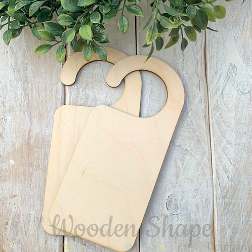 2 Pack Birch Plywood Door Hanger Hook