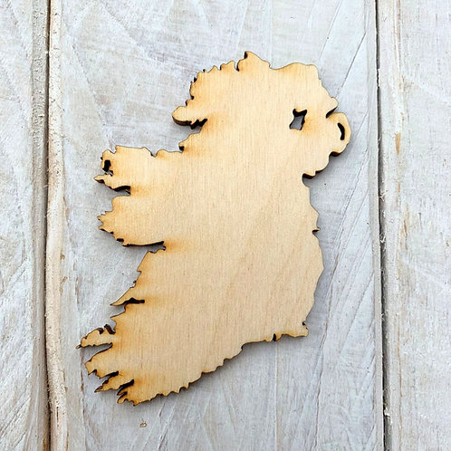 Plywood Ireland Shape 10 Pack