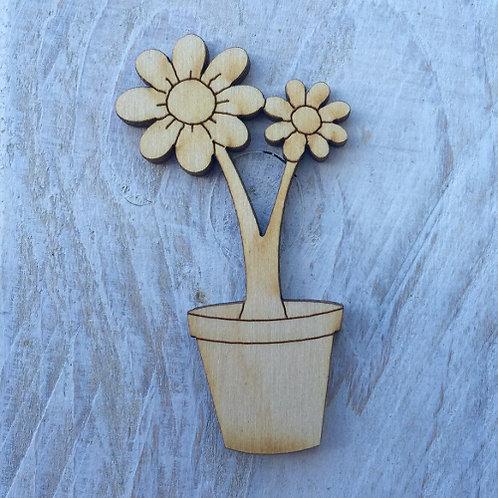 12 Pack Flowerpots Fairy Door Accessory