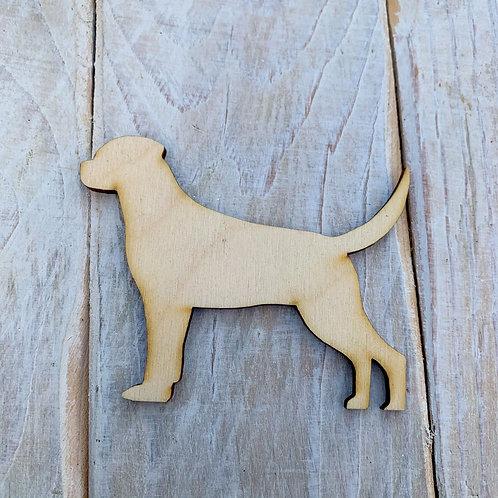 Plywood Rottweiler Dog Shape 10 PACK