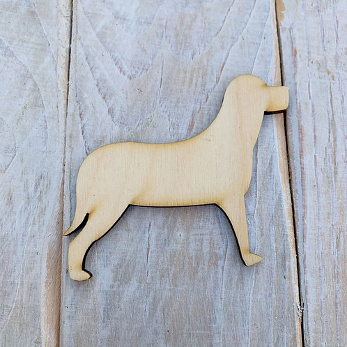 Plywood LABRADOR DOG Shape 10 PACK