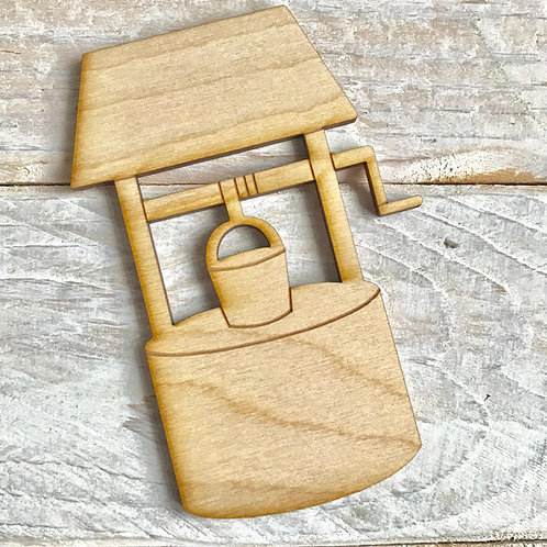 Plywood Wishing Well 10 Pack