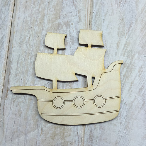 Plywood Ship 10 PACK
