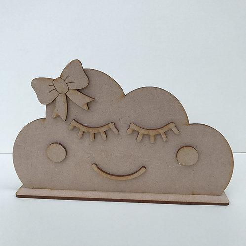 Cloud Shelfie with Face