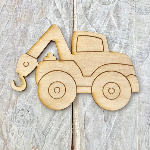 Plywood Tow Truck 10 Pack