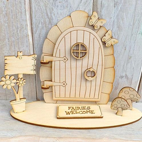Opening Stand Fairy Door Fairies Welcome
