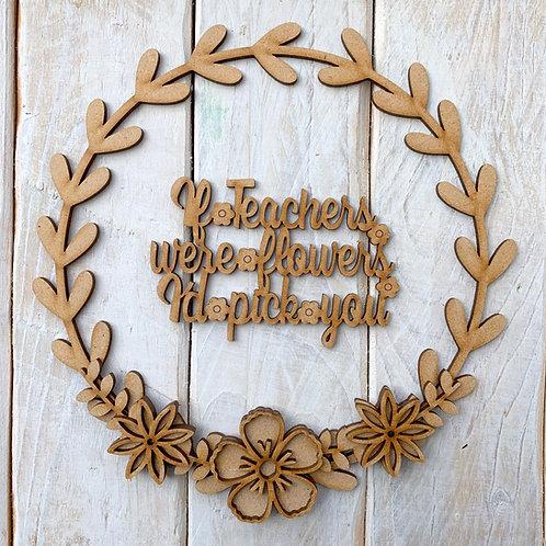 Laurel 2 Hoop Kit Teachers Flowers Pick You
