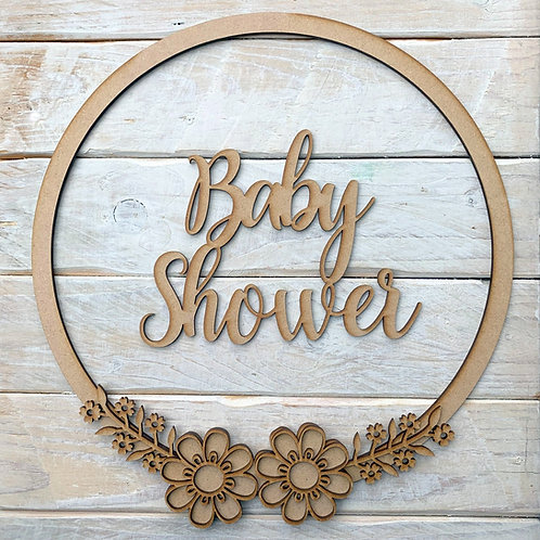 Hoop Kit with Baby Shower