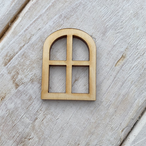 12 Pack Fairy Door Window Curved Small