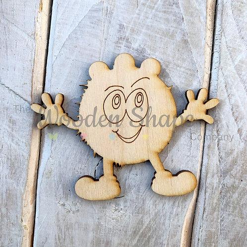 Plywood Monster Hug 3 Shape 10 Pack