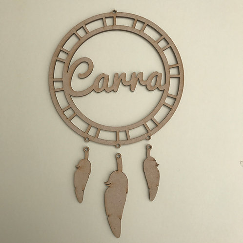 Dream Catcher Add Your Name D3
