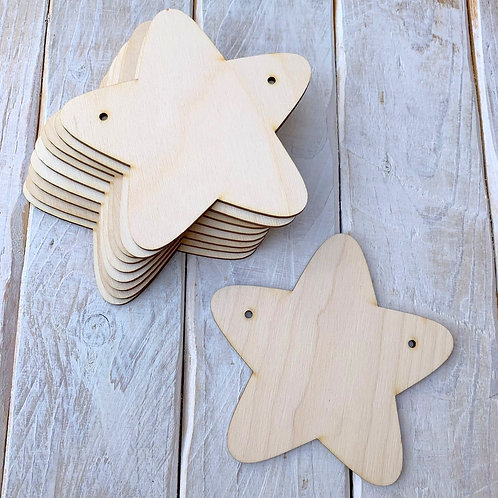 10 Pack Bunting Star