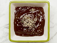 Chocolate and avocado pudding