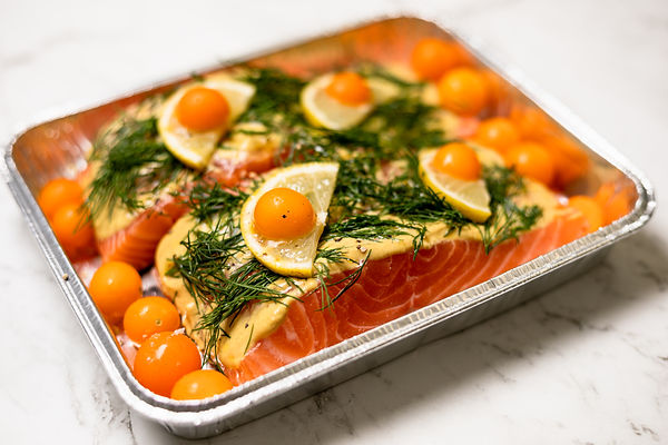 Dijon and Dill Baked Salmon