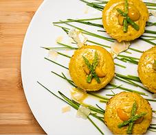 Asparagus and Parmesan Flan