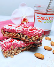 raspberry oat breakfast bars