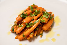 Moroccan cumin and paprika carrots