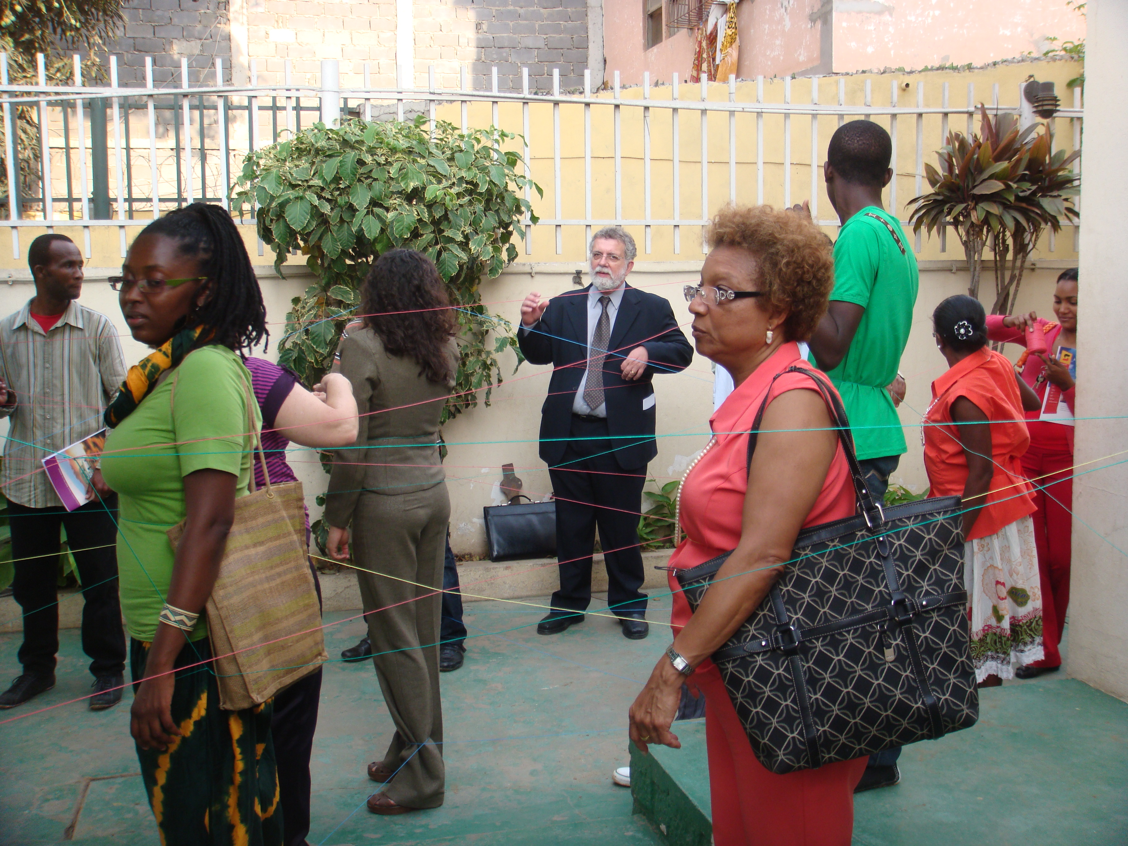 Palestra em Luanda