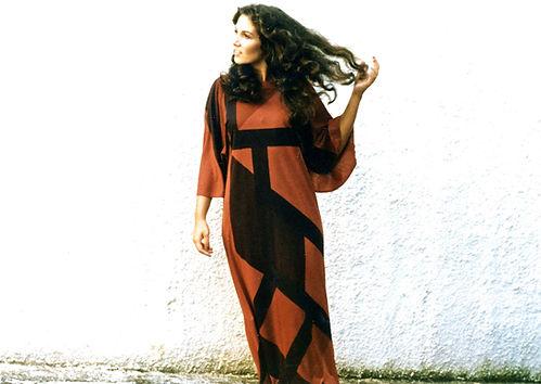 vestido de Solange Escosteguy