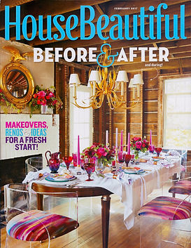 House Beautiful February 2017 Before and After Shon Parker Design