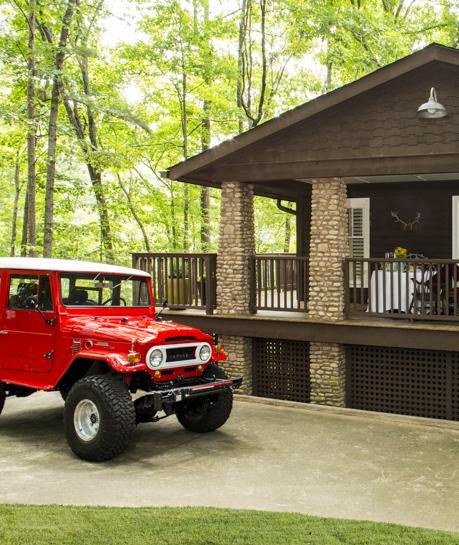 Shon Parker Design Camp Rock Point