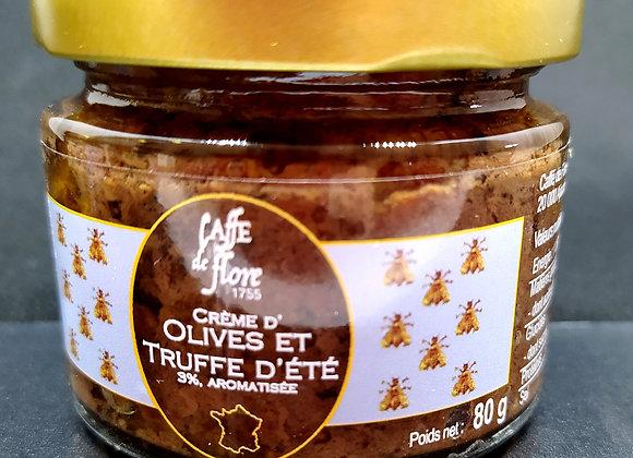 Crème d'olives et truffe d'été 80g