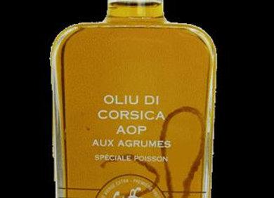 Huile d'olive AOP aux agrumes -250ml