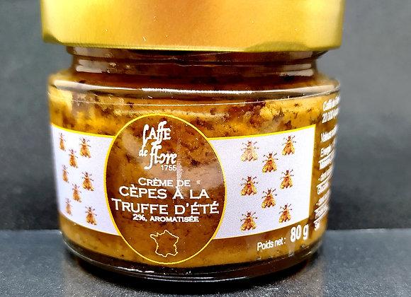 Crème de cèpes à la truffe d'été 80g