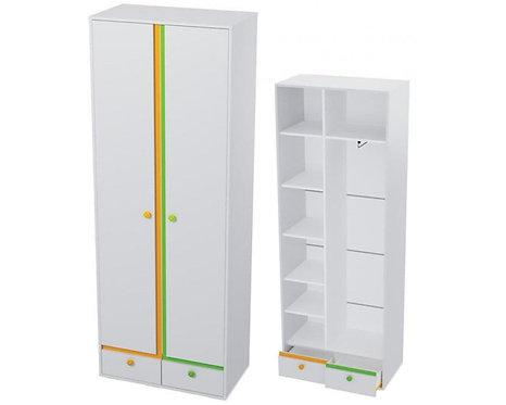 Шкаф 2х створчатый. Комплект детской мебели Мамба