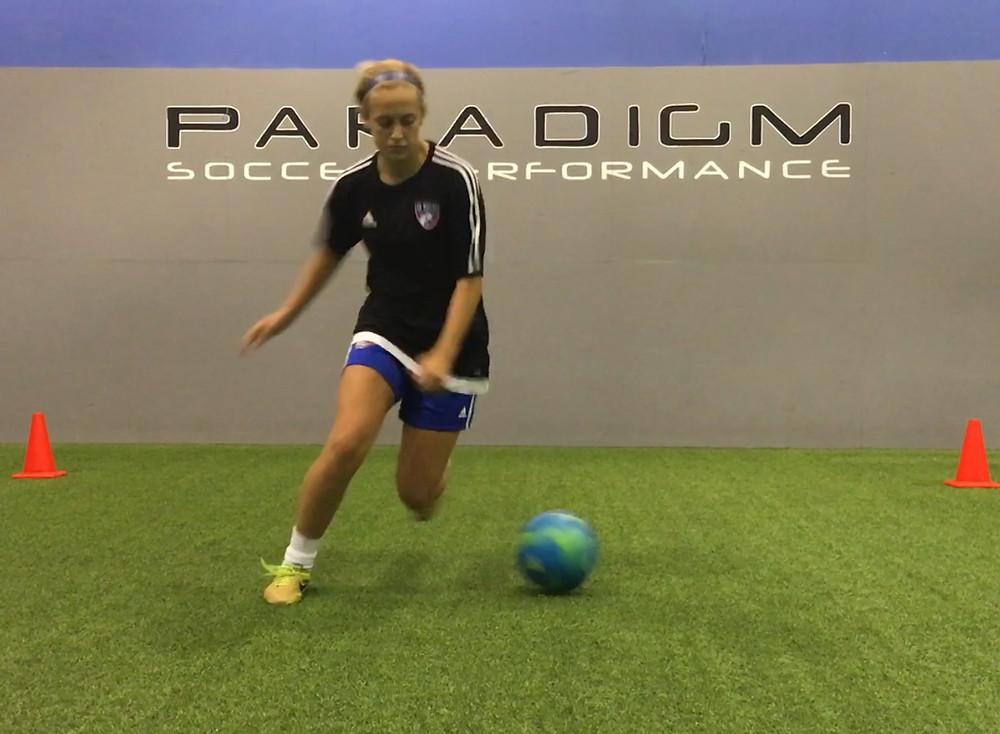 Chloe Bohanon putting in work!