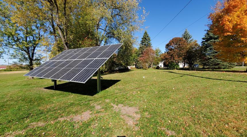 5.6 kW Ground Mount