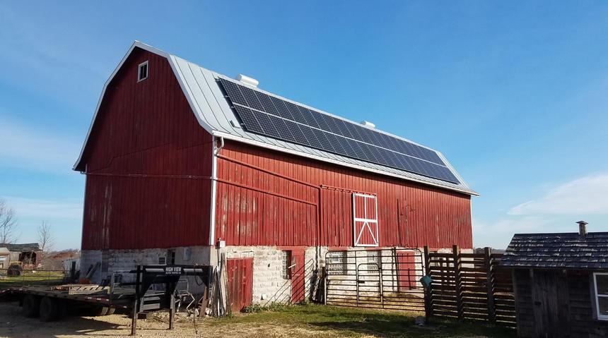 12.4 kW Roof Mount