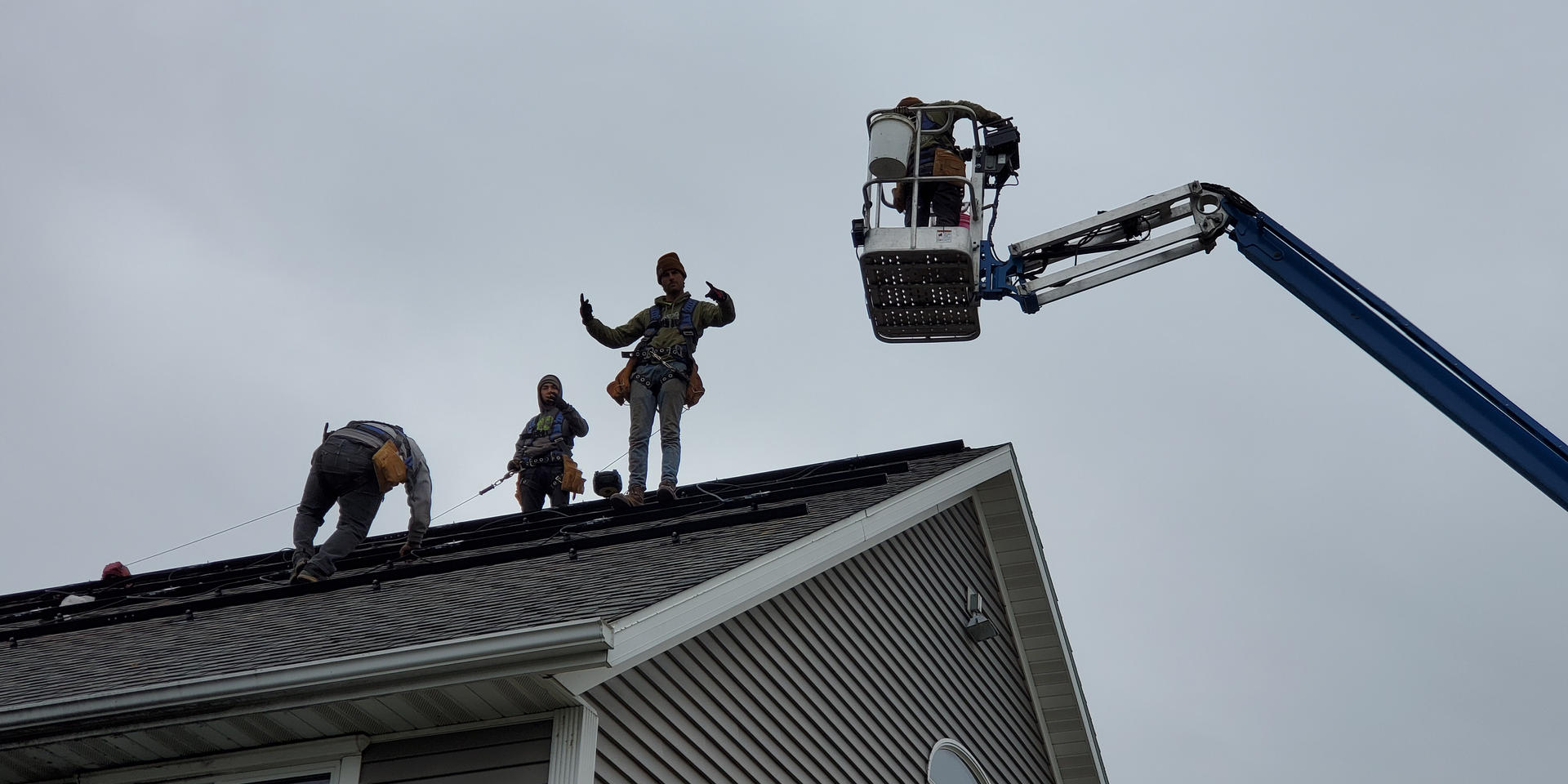The Hanson House Roof Project