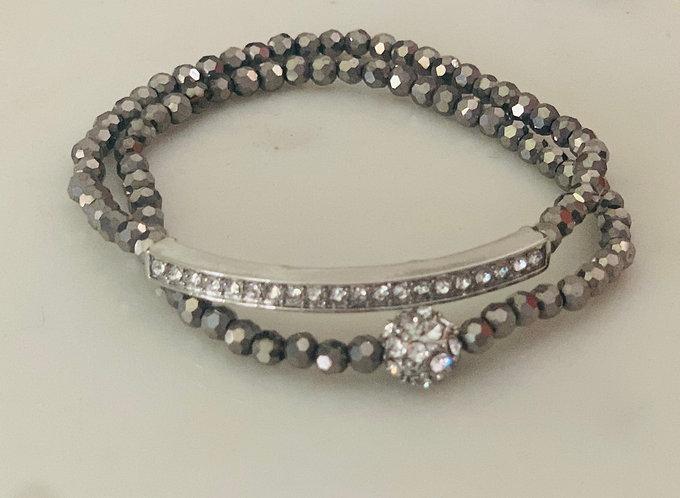 The Pave' Bracelet Set