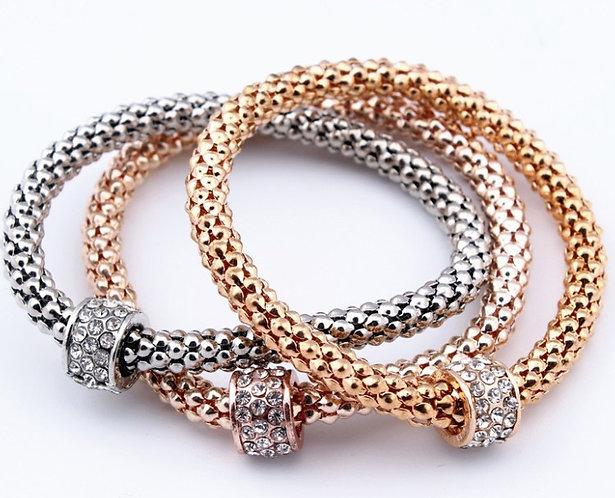 Urbyn Pave' Bracelet Set