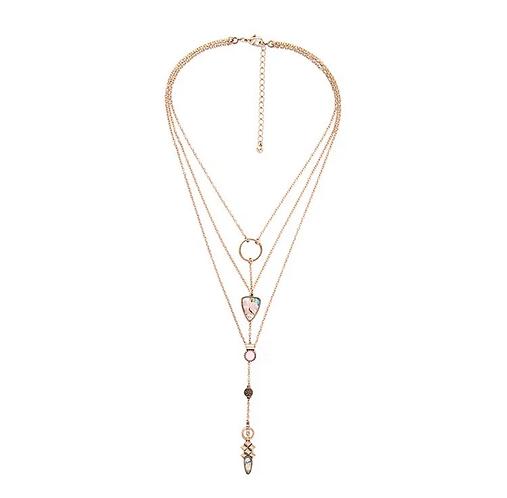 Priscilla Layered Necklace